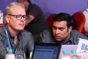 Tom Moody and VVS Laxman