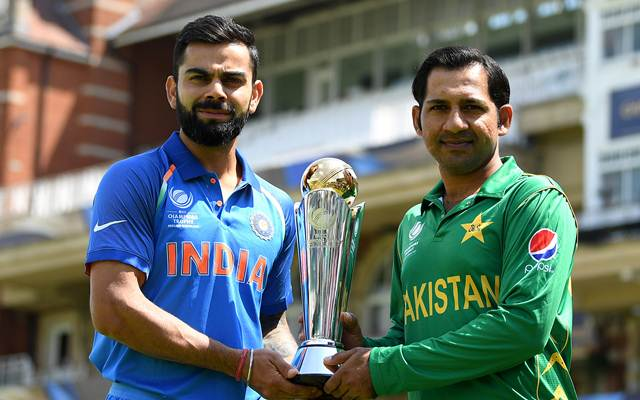 India captain Virat Kohli and Pakistan captain Sarfraz Ahmed