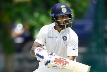 Indian cricketer Shikhar Dhawan