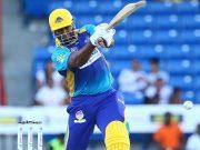 Kieron Pollard of Barbados Tridents