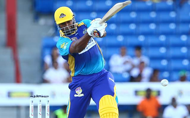 Kieron Pollard of Barbados Tridents
