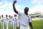 Kemar Roach Windies v England