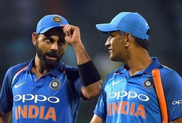Virat Kohli India and Kuldeep Yadav