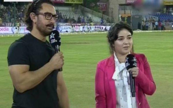 Virat Kohli invited Aamir Khan and Zaira Wasim