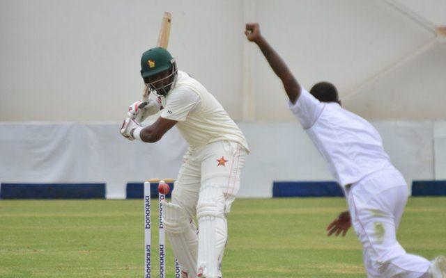 Hamilton Masakadza hits his 5th Test century