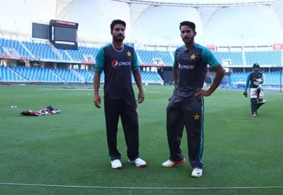 Hasan Ali and Rumman Raees