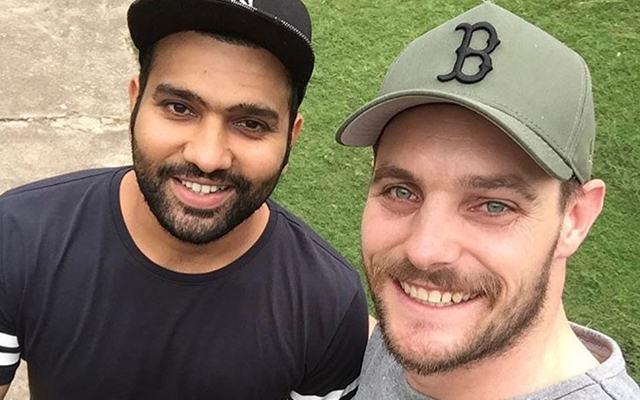 Rohit Sharma & Mitchell McClenaghan