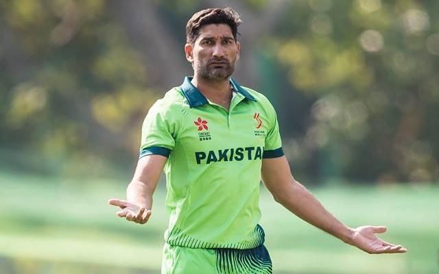 Sohail Tanvir, captain of Pakistan Hong Kong World Sixes 2017