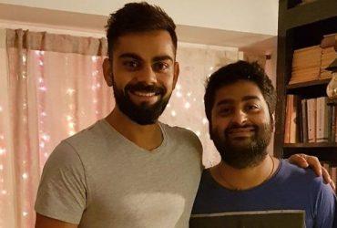 Virat Kohli and Arijit Singh