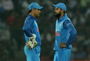 Virat Kohli and MS Dhoni India
