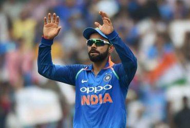 Indian skipper Virat Kohli.
