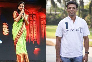 Anushka Shetty & Rahul Dravid