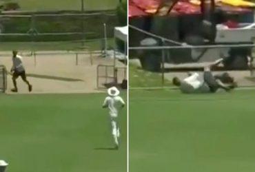 Aussie groundsman