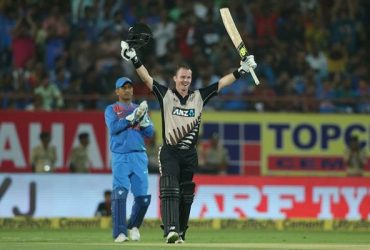 Colin Munro India v New Zealand