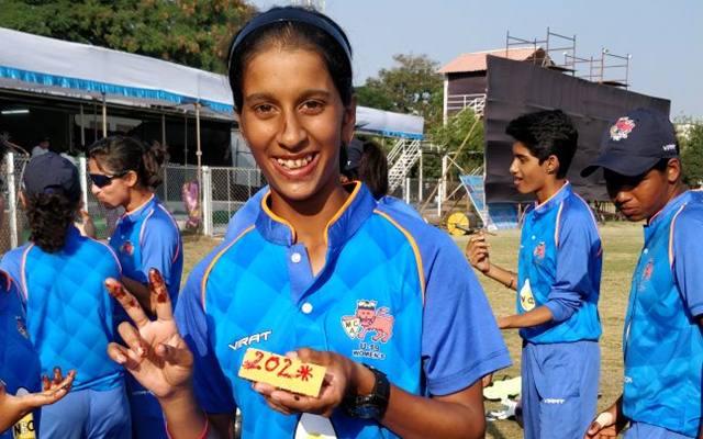 Mumbai's Jemimah Rodrigues