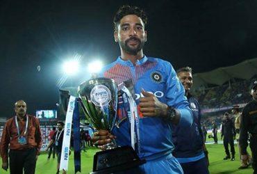 Mohammed Siraj india