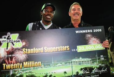 Chris Gayle of the Superstars