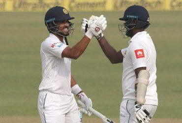 Dinesh Chandimal & Angelo Mathews