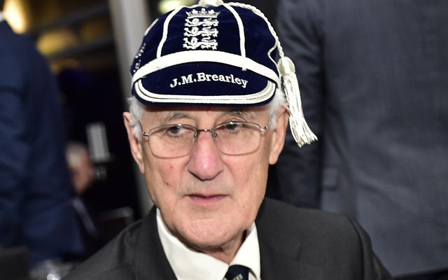 Mike Brearley of the ECB