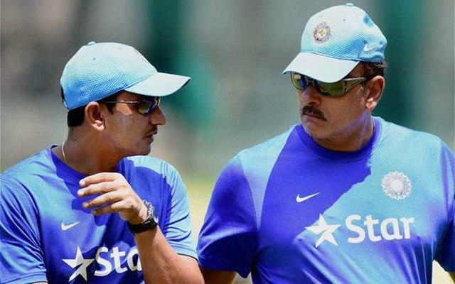 Ravi Shastri & Sanjay Bangar