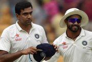 Ravichandran Ashwin & Ravindra Jadeja most wickets