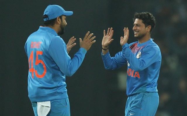Rohit Sharma & Kuldeep Yadav India vs Sri Lanka