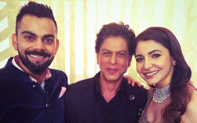 Shah Rukh Khan @ Virushka Wedding Reception | CricTracker.com