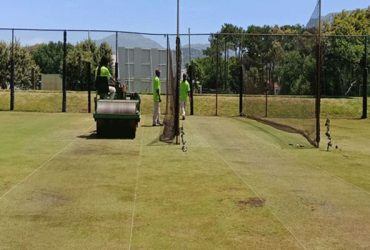 The greenish practice wickets India