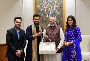Virat Kohli & Narendra Modi