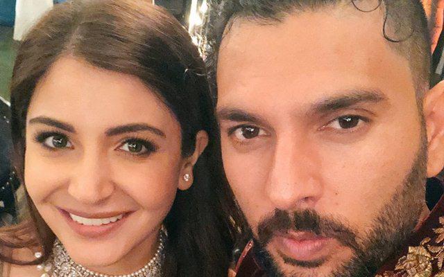 Yuvraj Singh & Anushka Sharma