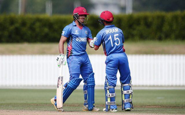 Afghanistan U19 players