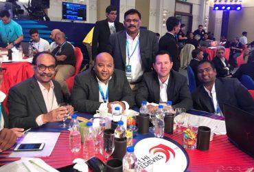 Delhi Daredevils auction table (JSW Sports)