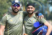Harbhajan Singh & Yuvraj Singh