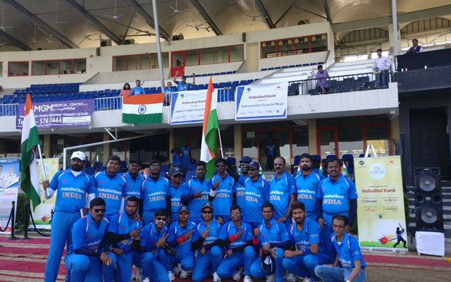 Indian blind cricket team | CricTracker.com