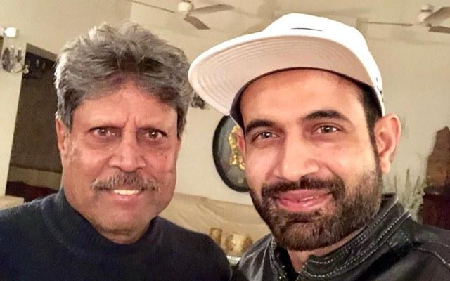 Kapil Dev & Irfan Pathan