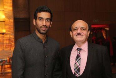 Kshitiz Sharma with CK Khanna
