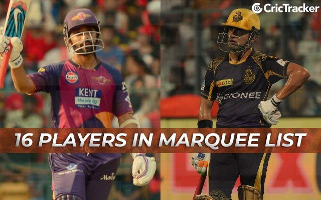 Marquee Players IPL | CricTracker.com