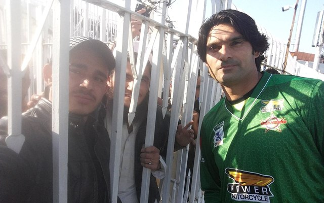 Mohammad Irfan   CricTracker.com