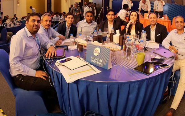 Mumbai Indians Auction Table 2018