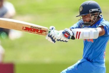 Prithvi Shaw batting