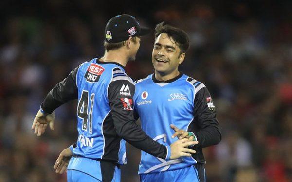 Adelaide Strikers' Rashid Khan   CricTracker.com