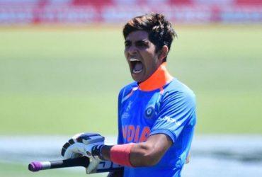 Shubman Gill India U19