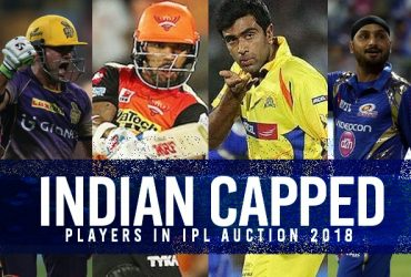 Team India capped players in Auction 2018