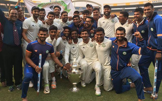 Vidarbha team Indian domesticseason 2018-19