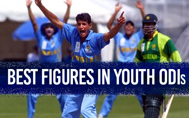 Best bowling figures in youth ODIs   CricTracker.com