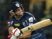 Andrew Symonds of the Deccan Chargers