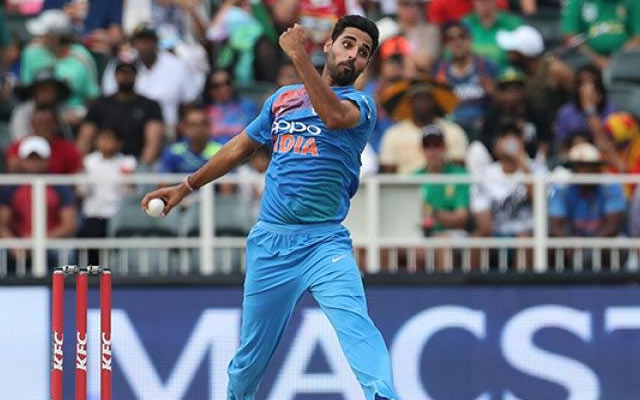 Bhuvneshwar Kumar of India