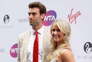 Elina Svitolina with boyfriend Reece Topley