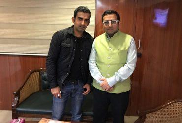 Gautam Gambhir & Hitesh J.Rajpal