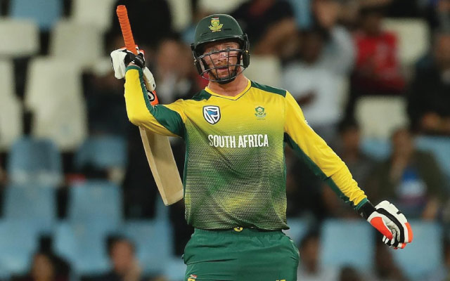 Heinrich Klaasen of South Africa